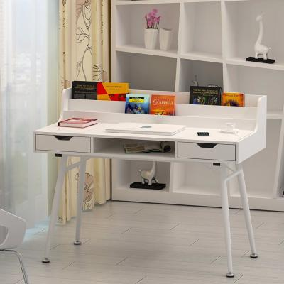 Bureau informatique design blanc