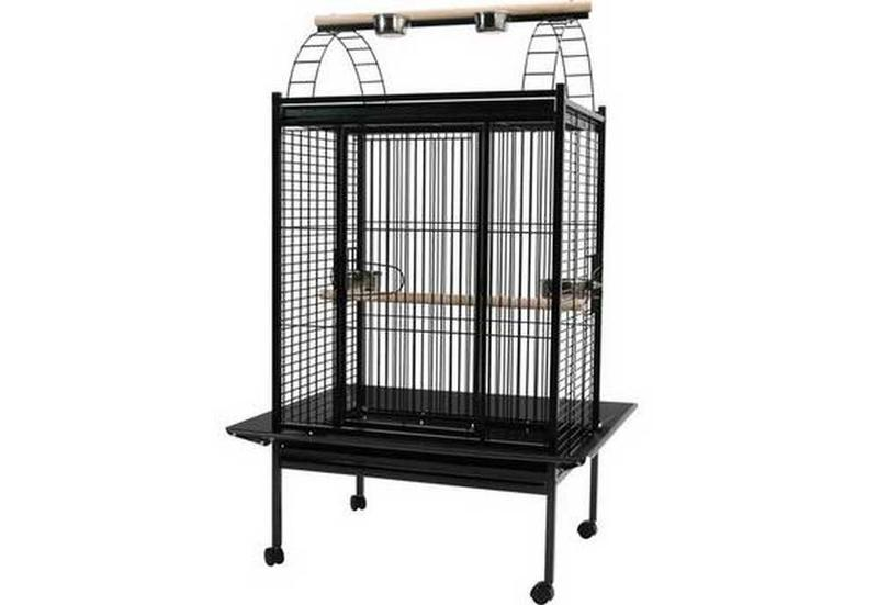 cage perroquet moucherolle ciel et terre. Black Bedroom Furniture Sets. Home Design Ideas