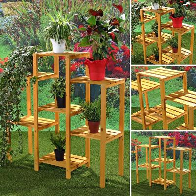 pot de fleur rotin pot de fleur en bois jardiniere en bois bac plantation ciel et terre. Black Bedroom Furniture Sets. Home Design Ideas