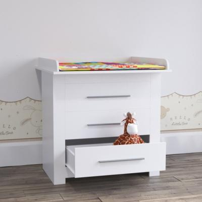 Table langer / Commode blanche