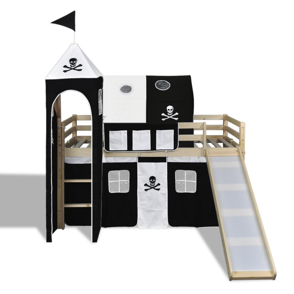 lit mezzanine pirates cielterre commerce. Black Bedroom Furniture Sets. Home Design Ideas