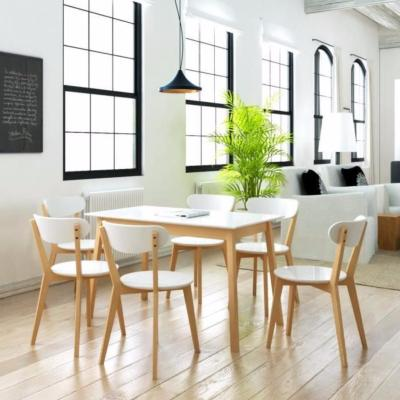 Table + 6 chaises scandinave