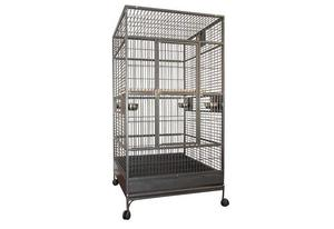 Cage perroquet Cacatoès rosalbin