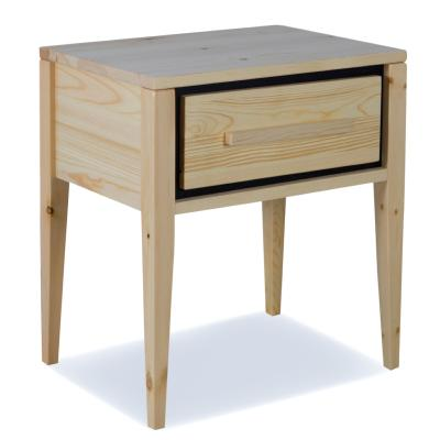Table de chevet pin massif