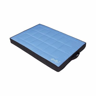 matelas chien moderne bleu ciel et terre. Black Bedroom Furniture Sets. Home Design Ideas