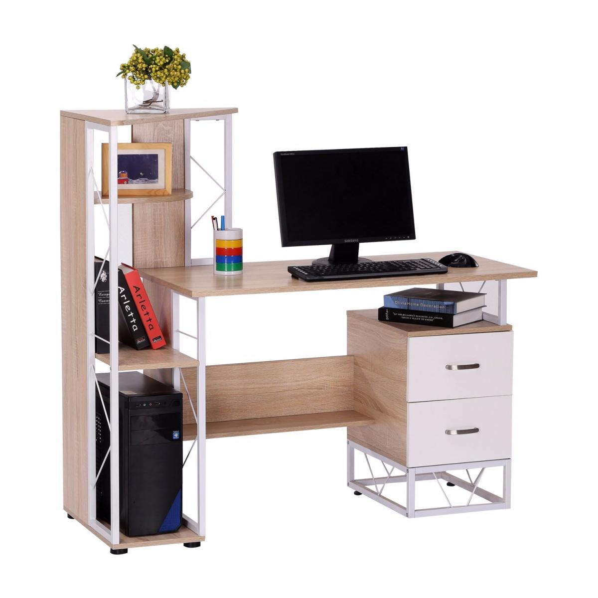 Bureau meuble informatique cielterre commerce for Meuble bureau informatique but