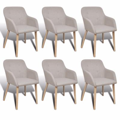 Lot de 6 chaises scandinave
