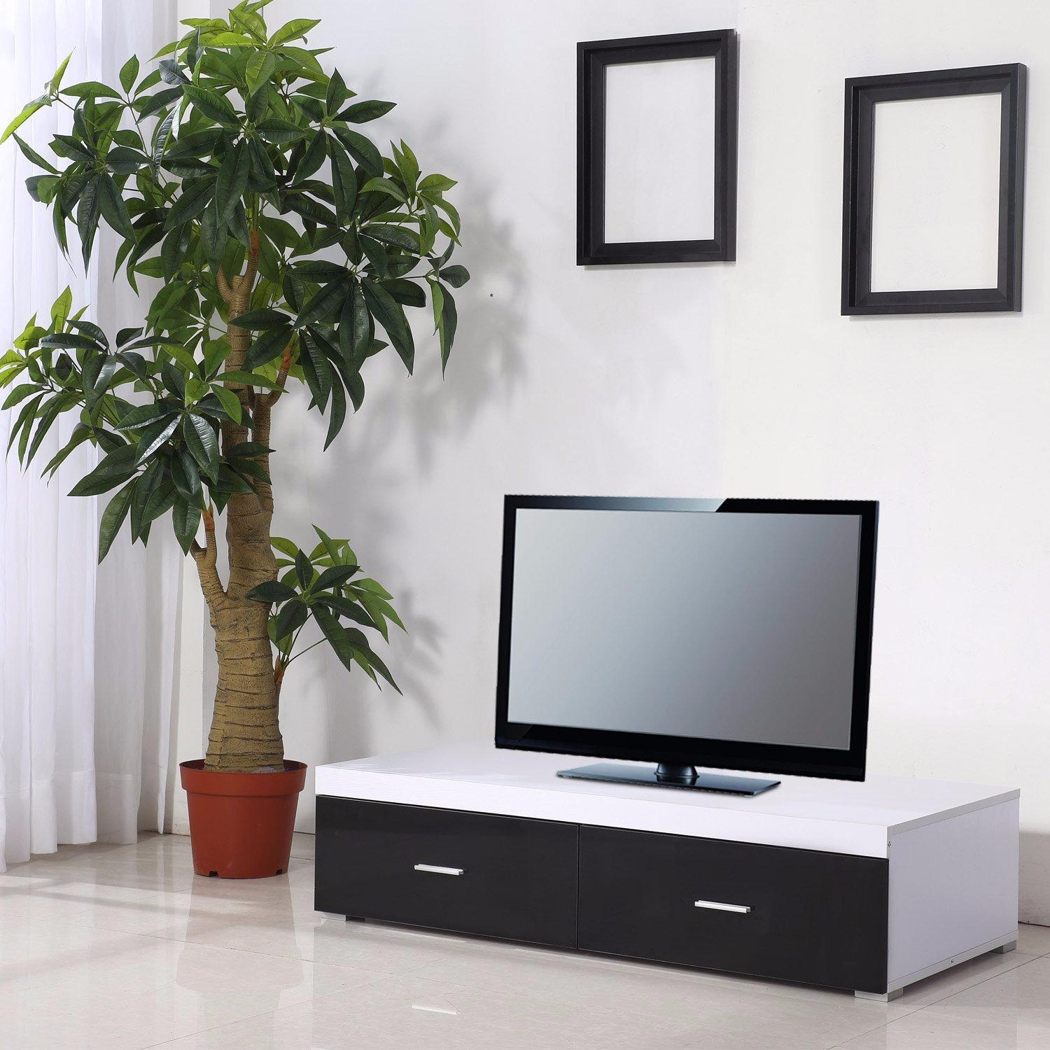 meuble tv moderne ciel et terre. Black Bedroom Furniture Sets. Home Design Ideas