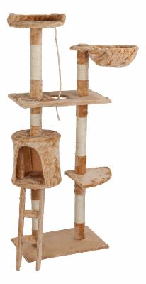 Arbre chat griffoir beige 152 cm