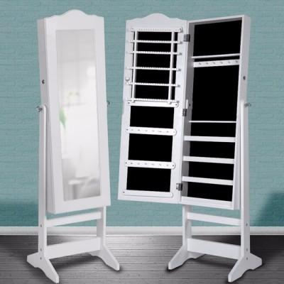 armoire bijoux blanc ou noir laqu cielterre commerce. Black Bedroom Furniture Sets. Home Design Ideas