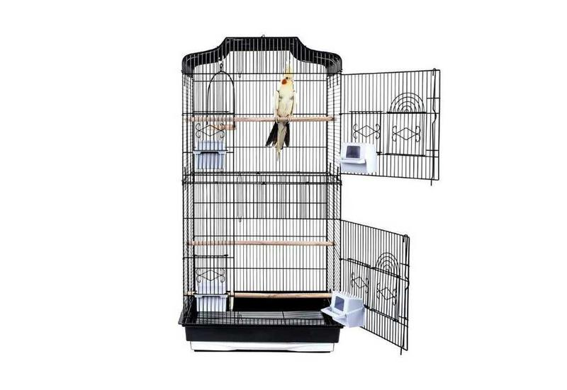cage oiseaux canari ciel et terre. Black Bedroom Furniture Sets. Home Design Ideas