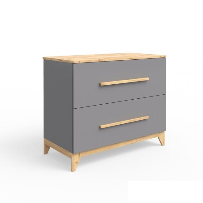 commode table langer scandinave gris souris cielterre. Black Bedroom Furniture Sets. Home Design Ideas
