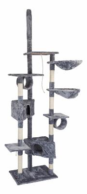 Arbre chat griffoir gris 230 cm