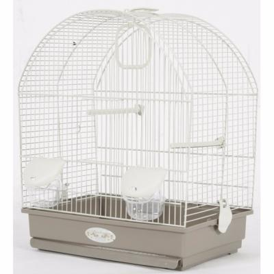 Cage oiseaux gusta taupe