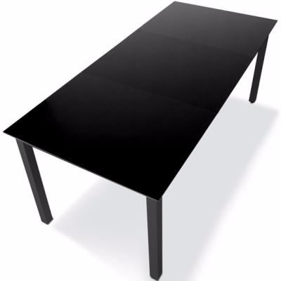 Emejing Table De Jardin Aluminium Noir Images - Amazing House Design ...
