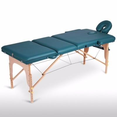 Table de massage verte 3 zones
