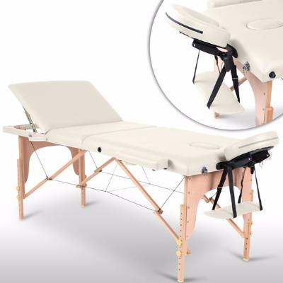 Table de massage beige 3 zones