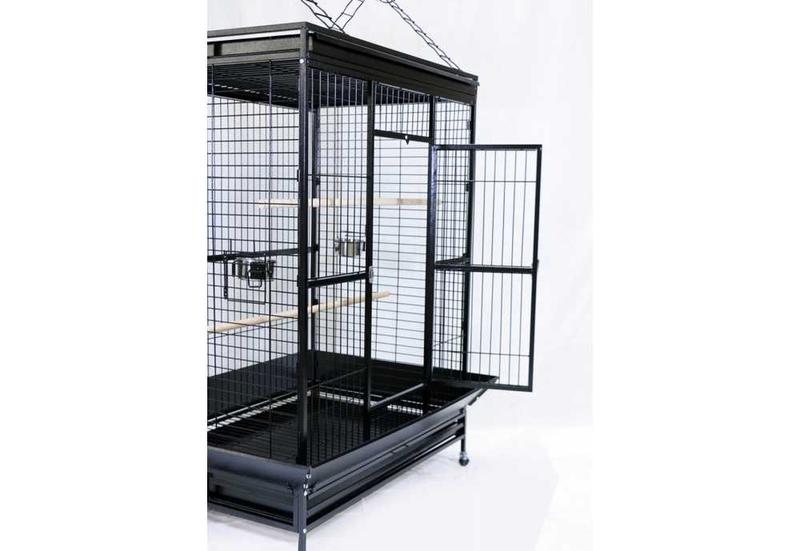 cage perroquet aire de jeux ciel et terre. Black Bedroom Furniture Sets. Home Design Ideas