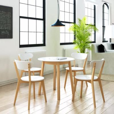 Table + 4 chaises scandinave