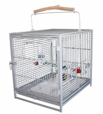 Cage de transport perroquet platinum