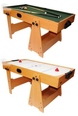 Billard et air hockey gain de place