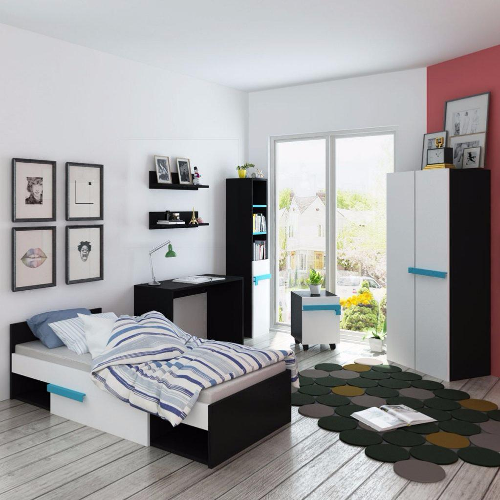 chambre compl te pour gar on cielterre commerce. Black Bedroom Furniture Sets. Home Design Ideas