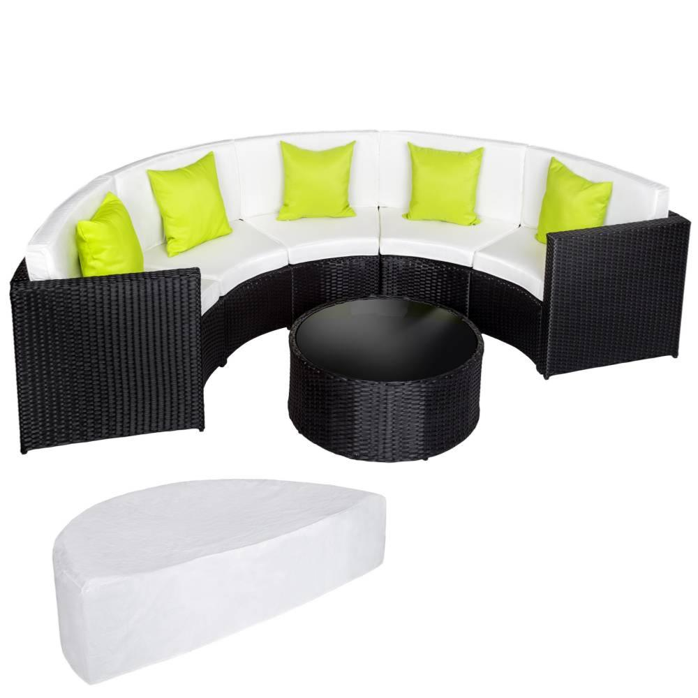 salon de jardin demi cercle cielterre commerce. Black Bedroom Furniture Sets. Home Design Ideas