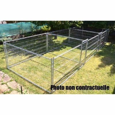 Chenil triple accolé 3x25 m²