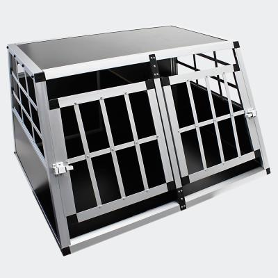 Cage de transport double Alu/MDF taille1